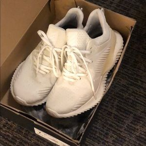 adidas alphabounce beyond running shoe white
